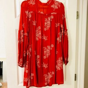Lulu's NWT Floral Boho Dress